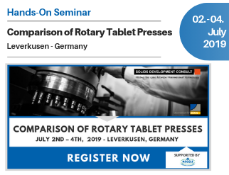 Hands-On Seminar: Comparison of Rotary Tablet Presses